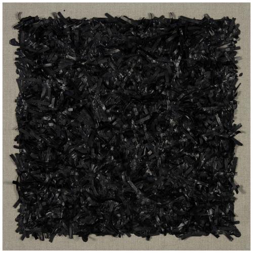 Bone Black on Linen