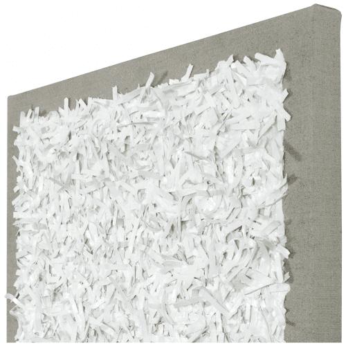 White on Linen